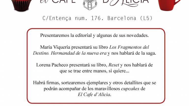 Fiesta de inauguración de Escarlata Ediciones