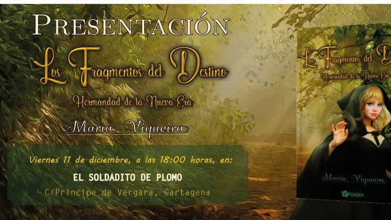 Presentación de Los Fragmentos del Destino. Hermandad de la nueva era, Cartagena