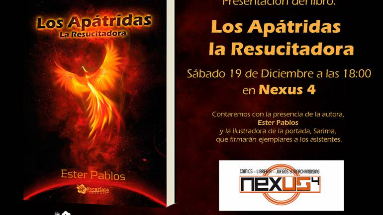 Presentación de Los Ápatridas. La Resucitadora, Santander
