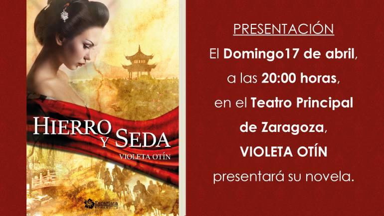 Presentación Hierro y seda, Zaragoza