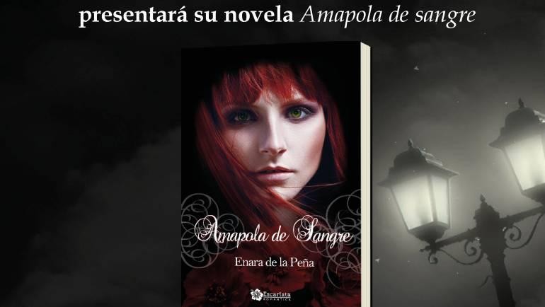 Presentación Amapola de sangre, feria del libro de Jaén