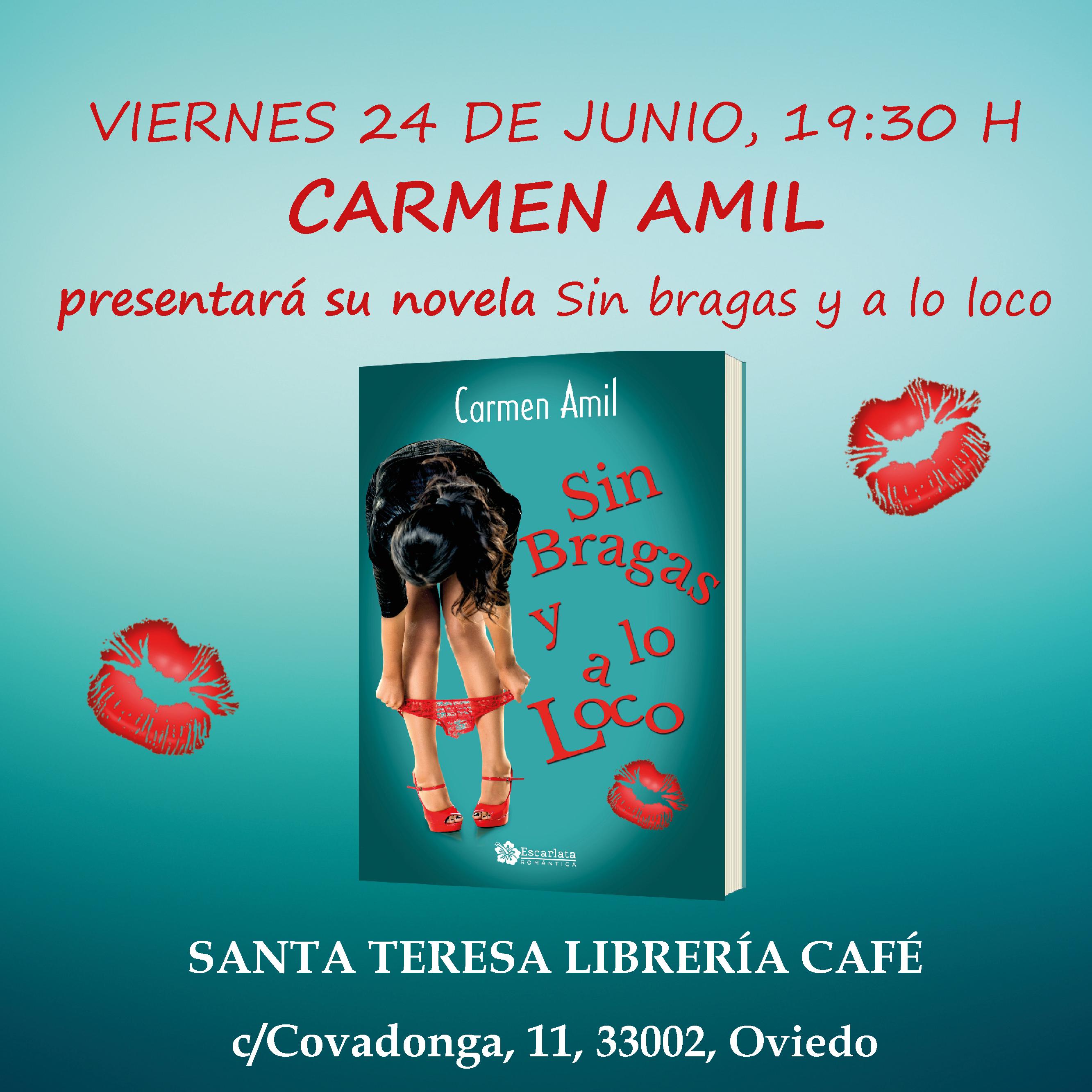 617beaa26 Presentación Sin bragas y a lo loco, Oviedo – Escarlata Ediciones