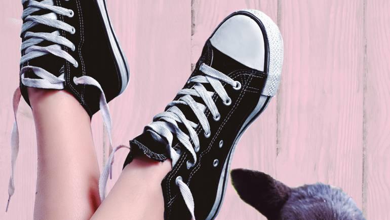 Lanzamiento de Mierda en mis zapatillas