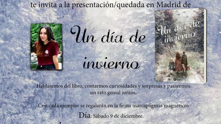 Presentación Un día de invierno, Madrid