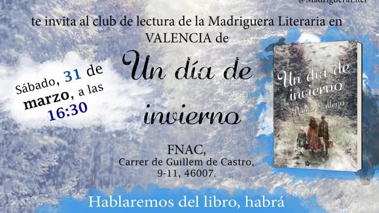 Presentación Un día de invierno, Valencia